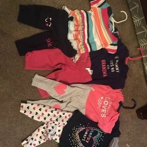 Carter's Matching Sets - 3month outfits